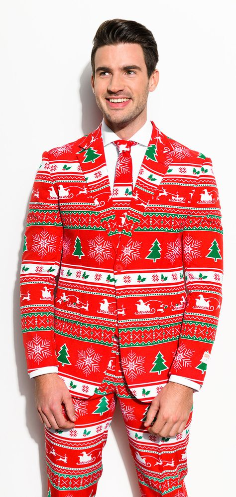 61cc9f260 Christmas clothing for men with the suit from OppoSuits.