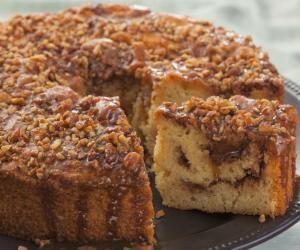 Sour Cream And Coffee Cake Recipe Crunch Cake Coffee Cake Banana Crunch Cake Recipe