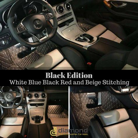 Pin By Diamond Car Mats On Luxury Diamond Car Mats Car Mats Car Floor Mats Black Edition
