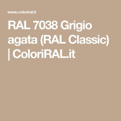 RAL 7038 Grigio agata (RAL Classic) | ColoriRAL.it | Grigio ...