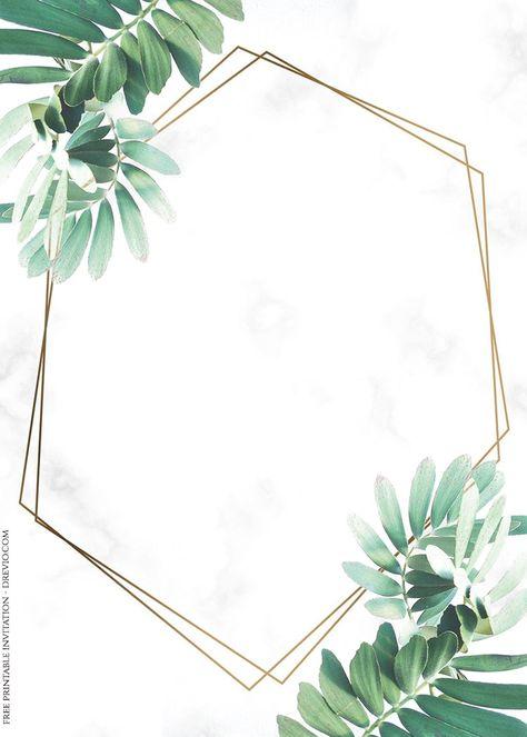 ( 70+ FREE PRINTABLES ) – Vintage Floral Watercolor Invitation Templates
