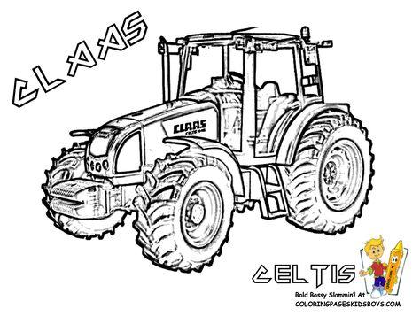 Claas Ausmalbilder Ausmalbilder Traktor Ausmalbilder