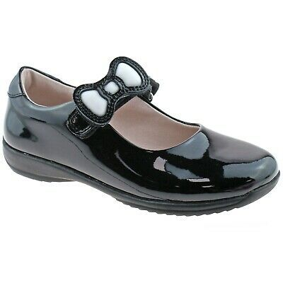 Lelli Kelly Blossom School Dolly Black Patent Infant Mary Jane Shoes