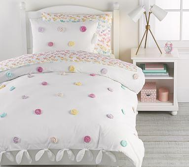 Zoey Pom Pom Duvet Cover In 2020 Duvet Covers Duvet Girl Room