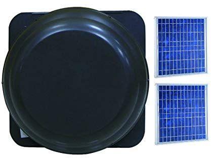 Brightwatts Premium Solar Attic Fan 25 Watts Review Solar Attic Fan Solar Panels For Home