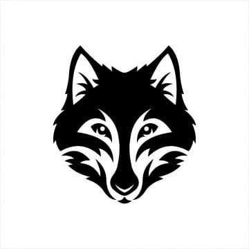 Wolf Head Monochrome Symbol Logo Vector Illustration Wolf Clipart Logo Icons Wolf Icons Png And Vector With Transparent Background For Free Download Vector Illustration Vector Logo Symbol Logo