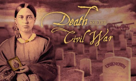 The overwhelming volumes of deaths during the Civil War created logistical, spiritual, and political challenges that transformed our views on death and dying.  See WGBH American Experience | PBS . Death and the Civil War via this link.