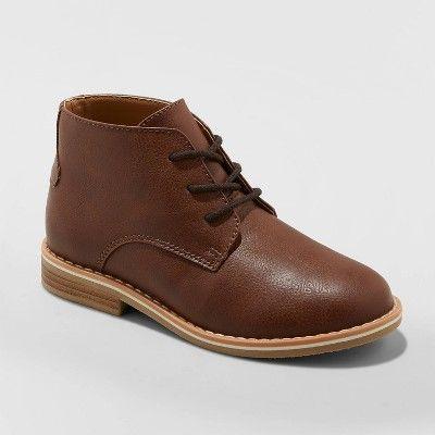 Brown chukka boots, Boys brown boots