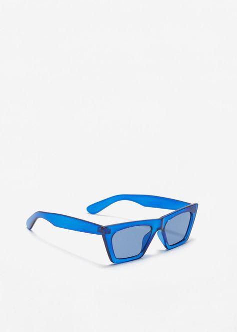 Femme fun festival designer pois vintage rétro lunettes de soleil noir rouge
