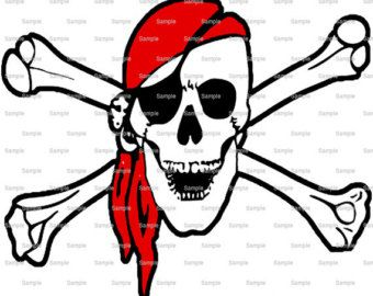 Pirate Skull And Crossbones Birthday Edible Cake And Cupcake Topper For Birthday S And Parties D7928 Pirate Skull Pirate Printables Pirate Signs