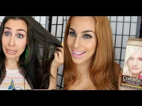 Dark To Blonde Hair No Damage No Bleach Youtube Hair Color Remover How To Lighten Hair