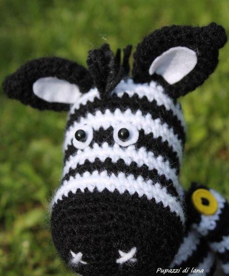 Hand Made With Love by Betta: Amigurumi... Cavallo... Horse... | 569x474