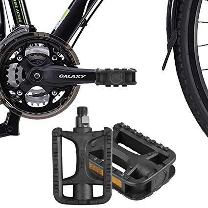 "Mountain Bike Pedals Bicycle Platform Flat Aluminum Sealed 3Bearings 9//16/"" US"