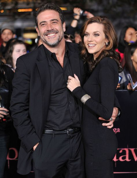 One tree hill meets walking dead!!!!  Jeffrey Dean Morgan and his wife Hilarie Burton