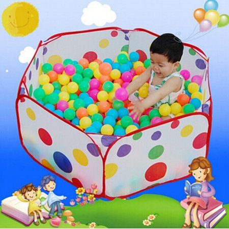 Portable Kids Child Ball Pit Pool Play Tent for Baby Indoor Outdoor Game Toy Hut