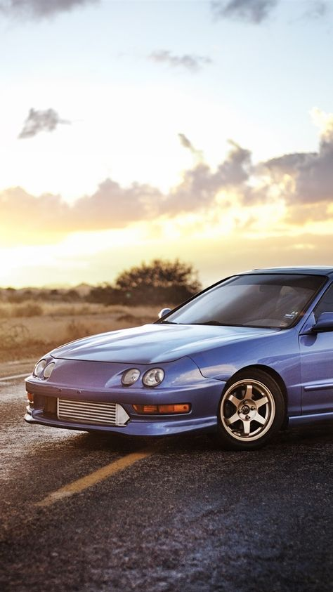 Honda Acura Sedan, blue car 750x1334 iPhone 8/7/6/6S