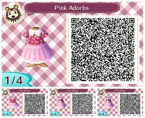 Bramble S Crossing I Ve Been Designing Again Have An Adorable Pink Animal Crossing Qr Animal Crossing Game Animal Crossing 3ds
