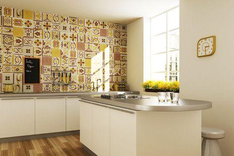 Awesome Rivestimento Cucina Classica Ideas - Acomo.us - acomo.us