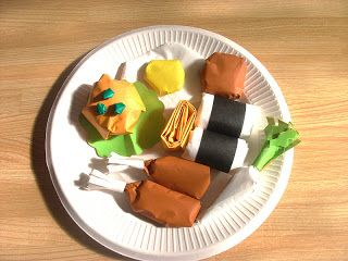 : paper plate food crafts - Pezcame.Com