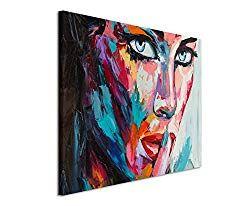 130 x 70cm Paul Sinus Art moderne Bilder für Wohnzimmer Schlafzimmer Büro