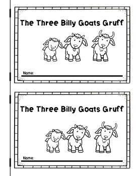 The Three Billy Goats Gruff Emergent Reader Billy Goats Gruff
