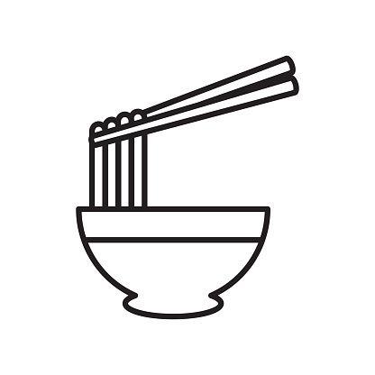 Ramen Noodle Icon Vector Icon Vector Icons Ramen Noodles Free Vector Art
