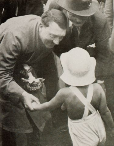 Hitler and child