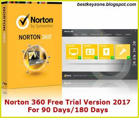 Norton 360 Free Trial Download 90 Days/180 Days 2018 | beskkeyzone