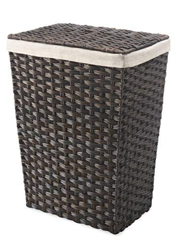 Whitmor Rattique Laundry Hamper With Lid And Removable Li Https