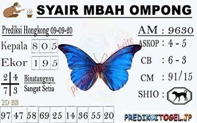 Syair hk mbah ompong 14 juni 2021