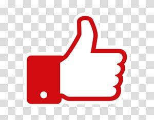 Red Facebook Like Logo Youtube Facebook Like Button Blog Youtube Transparent Backgrou Facebook Like Logo Instagram Logo Transparent Facebook Logo Transparent