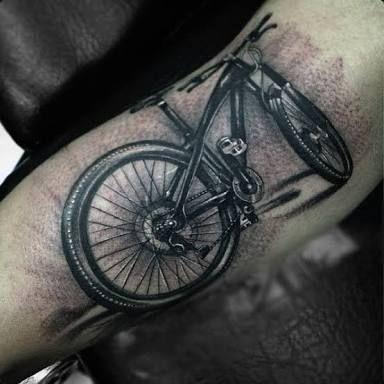 Tattoos For Men Tatuajes Bicicletas Tatuaje De Ciclismo Tatuajes