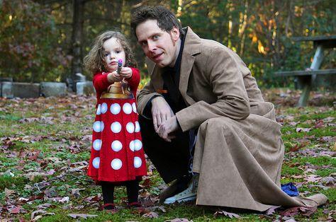 Doctor & Dalek cosplay