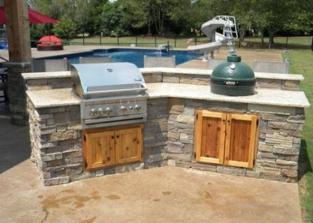 Super Backyard Kitchen And Pool Awesome 16 Ideas Backyard Kitchen Outdoor Kitchen Outdoor Kitchen Design