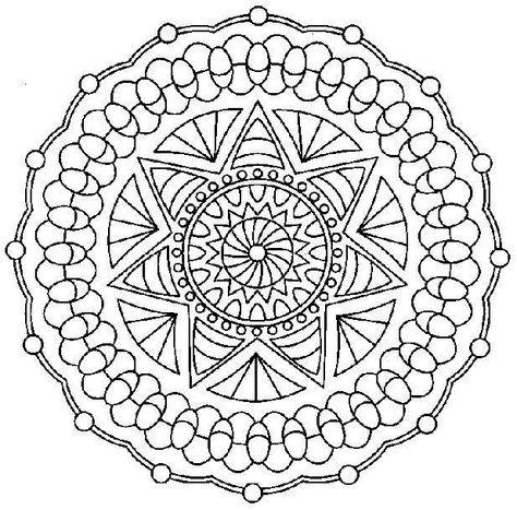 Disegni Da Colorare Per Adulti Mandala Per Adulti Coloring Pages