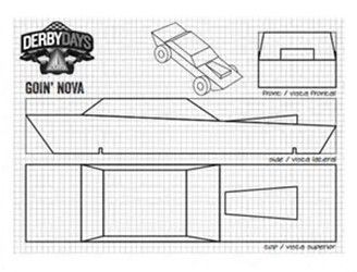 Pinewood derby car template kubreforic pinewood derby car template maxwellsz