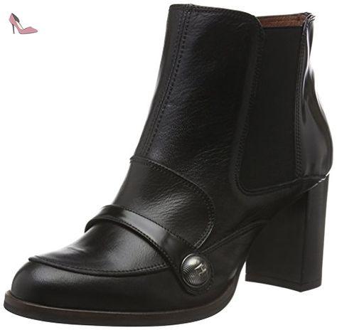Hispanitas Atlantan HI-40126, Bottes femme - Noir - Schwarz (Sauvage Negro  / Crosta Negro), 36 EU (3.5 Femme UK) EU - Chaussures hispanitas (*Partn…