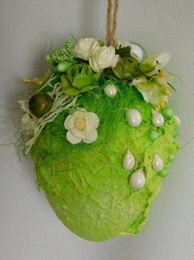 Pisanka Mix Media Zawieszki Ozdoby Wielkanocne 7791223011 Oficjalne Archiwum Allegro Easter Egg Art Easter Craft Decorations Easter Crafts