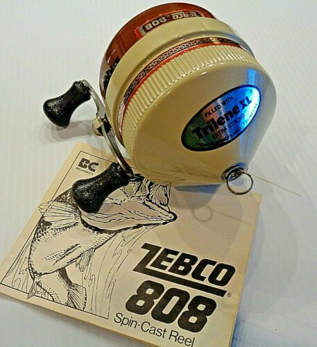 Nos Vintage Zebco 808 Heavy Duty Spincasting Fishing Reel Never Used Usa Ebay Things To Sell Fishing Reels