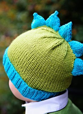 cc3c0eb0bf3 Dino Spikes Knitting Pattern