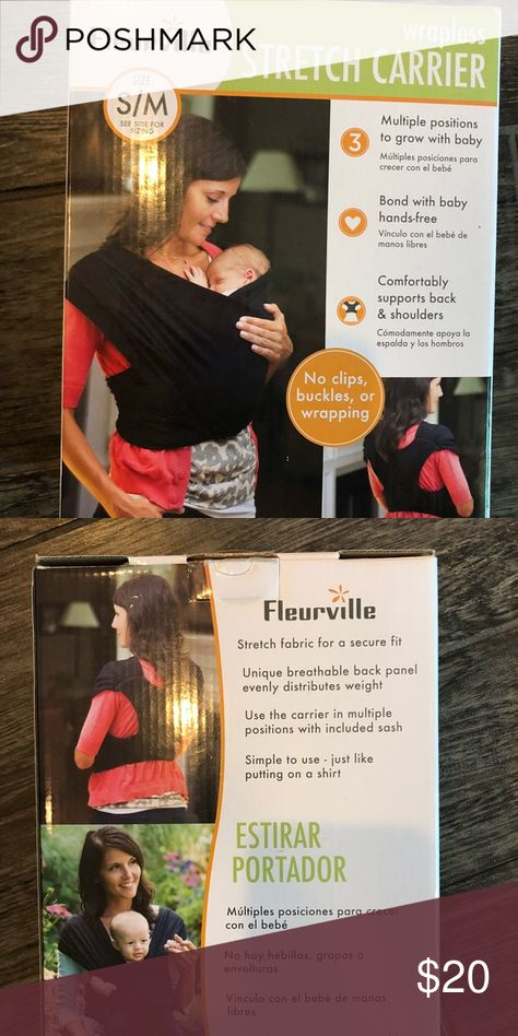 fdd2fe44010 Baby carrier S M fleurville in black To small for me used once fleurville  Other