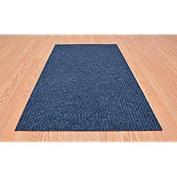 Tough Collection Roll Runner Blue 27 In Or 36 In Wide X Your Length Choice Slip Resist Bullnose Carpet Stair Treads Carpet Stair Treads Rubber Backed Area Rugs