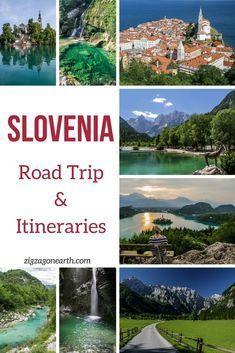 Slovenia Travel - Guide to plan a Slovenia road trip - tips + where to go + Slovenia Itinerary Suggestions | #Slovenia #Ifeelslovenia | Things to do in Slovenia
