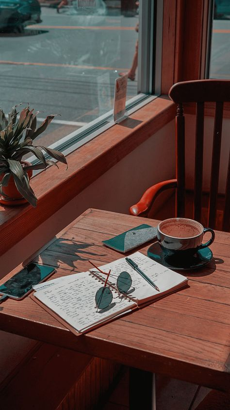 coffee and books lockscreens