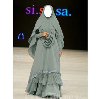 Model Gamis Syar I Ceruti Babydoll Premium Mewah Terbaru Mode Abaya Gaya Abaya Pakaian Pesta