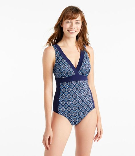 ae0e1a2279298 Women's L.L.Bean Mix-And-Match Swim Collection in 2019 | Products | Swimming,  Beans, Women