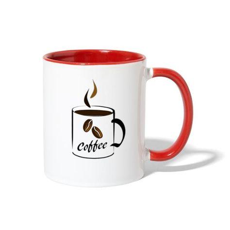 COFFEE DESIGN Mug Contrast Coffee Mug