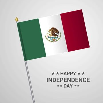 Mexico Independence Day Typographic Design With Flag Vector 16 16th Background Png And Vector With Transparent Background For Free Download Print Design Template Graphic Design Templates Flag Vector