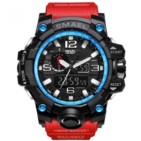 Smael Sports Watch - End of Year Sale - $19.97 + Free Shipping. Buy now! Sunchaser.World | https://sunchaser.world/product/smael-sports-watch/