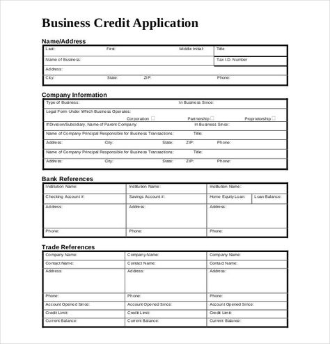 Credit Application Form Template Uk Carers Credit Application Form